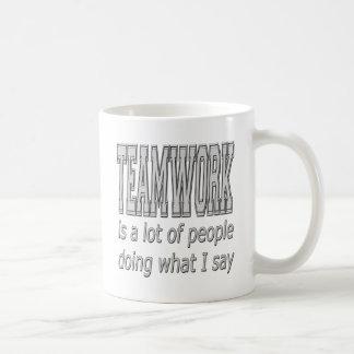 Teamwork Kaffeetassen