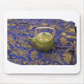 TeapotSilkScarf081210 Mauspad