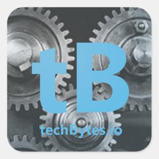 techBytes.io Aufkleber