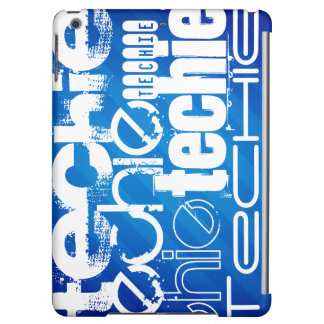 Techie; Königsblau-Streifen