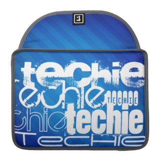 Techie; Königsblau-Streifen Sleeves Für MacBooks