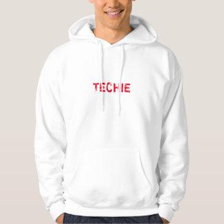 Techie mit Kapuze Sweatshirt
