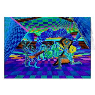 Techies Band Geometrix Reihe durch CricketDiane Grußkarte