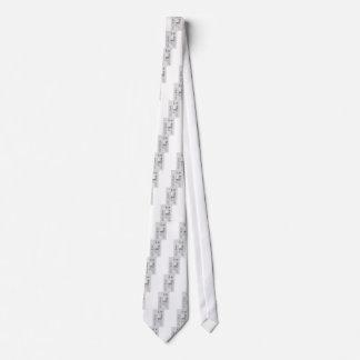 Technik-Plan-Maschinerie Vintag Individuelle Krawatten