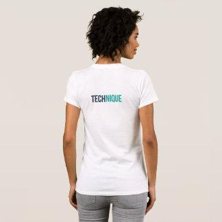 Technik-T - Shirt der Frauen (weiß)