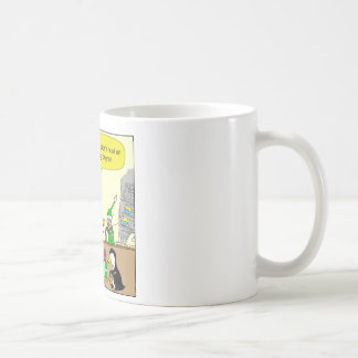 Technikgrad-Cartoon des Elf-x87 Kaffeetasse