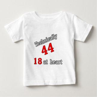 Technisch 44, 18 am Herzen Baby T-shirt