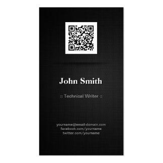 Technischer Redakteur - eleganter Code des Visitenkarten Vorlage