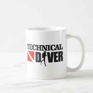 Technischer Taucher 2 Kaffeetasse