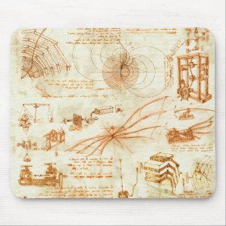 Technisches Zeichnen u. Skizzen durch Leonardo da Mauspads