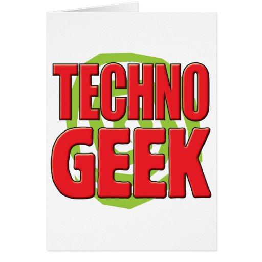 Techno Aussenseiter Grußkarten