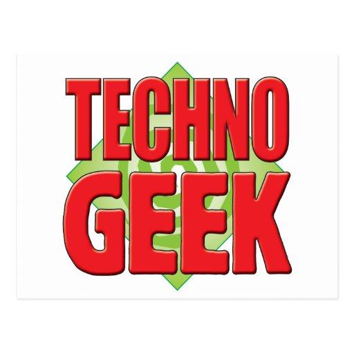 Techno Aussenseiter v2 Postkarte