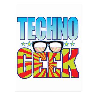Techno Aussenseiter v4 Postkarte