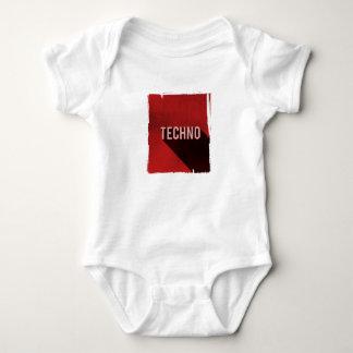 Techno Baby Strampler