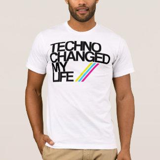 TECHNO CHAGED MEIN LEBEN!!! T-Shirt