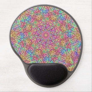 Techno färbt Vintages Kaleidoskop-Gel Mousepad