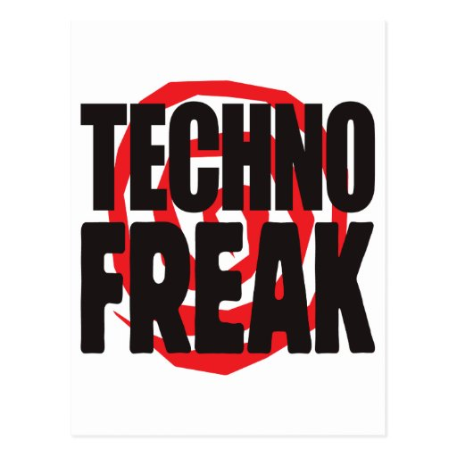 Techno Freak Postkarten