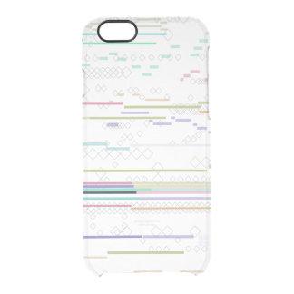 Techno Haut Durchsichtige iPhone 6/6S Hülle