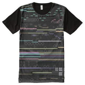 Techno Haut T-Shirt Mit Bedruckbarer Vorderseite