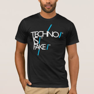 "TECHNO IST ""NEIN"" FAKE!! :):) T-Shirt"