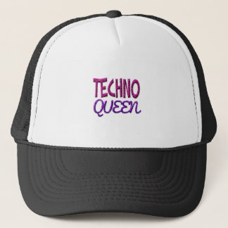 Techno Königin Truckerkappe