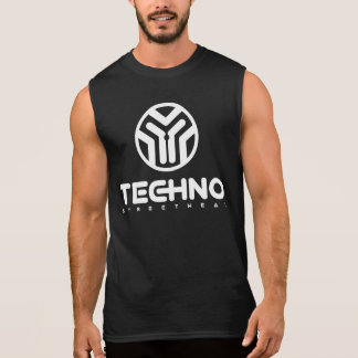 Techno Streetwear - Logo - das Sleeveless Shirt