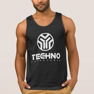 Techno Streetwear - Logo - das Trägershirt der Tank Top