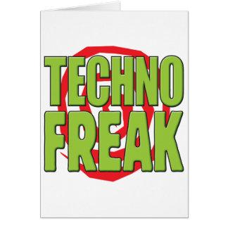 Techno ungewöhnlicher G Karte