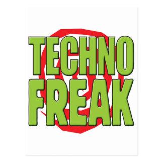 Techno ungewöhnlicher G Postkarte