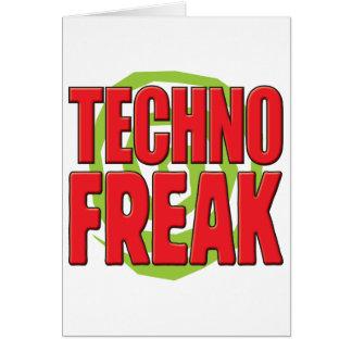 Techno ungewöhnliches R Karten