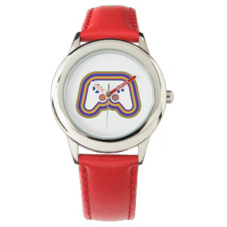 Techno Videospiel-Prüfer Armbanduhr