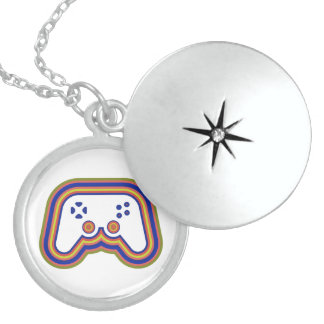 Techno Videospiel-Prüfer Medaillon