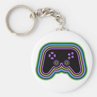 Techno Videospiel-Prüfer Schlüsselanhänger