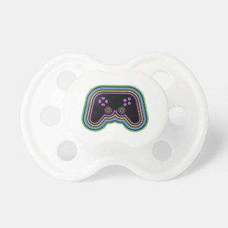 Techno Videospiel-Prüfer Schnuller