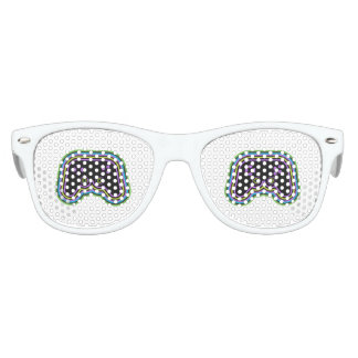 Techno Videospiel-Prüfer Sonnenbrille