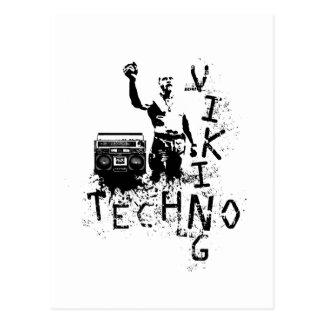 Techno Viking Postkarte