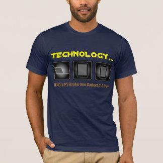 Technologie… Die Herstellung ich brach ein Gerät T-Shirt