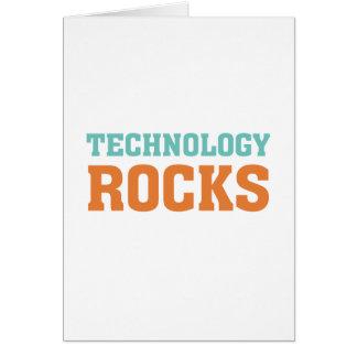 Technologie-Felsen Karte