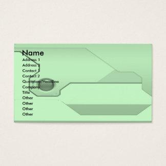 Technologie-Geschäft-Karte Visitenkarte