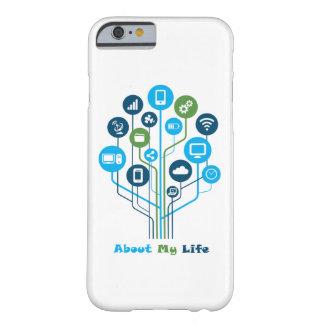 Technologie iPhone 6/6s, starker Telefon-Kasten Barely There iPhone 6 Hülle