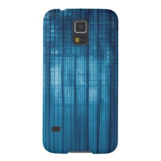 Technologie-Mosaik-Hintergrund als Samsung S5 Cover