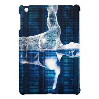 Technologie-Netz über dem Internet und dem Hüllen Für iPad Mini