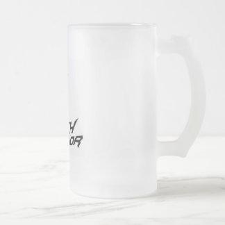 Techwarrior Bier-Tasse Mattglas Bierglas