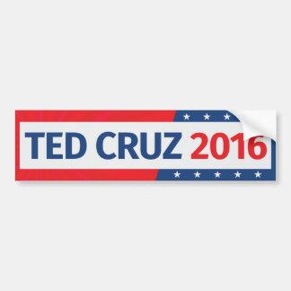 Ted Cruz 2016 Autoaufkleber
