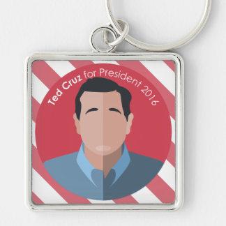 Ted Cruz 2016 für Präsidentenkundenspezifische Schlüsselanhänger