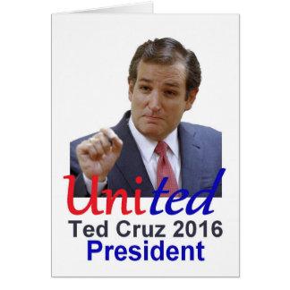 Ted Cruz 2016 Karte