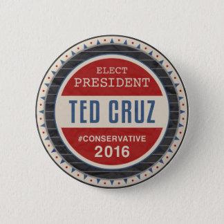 Ted Cruz 2016 Runder Button 5,1 Cm