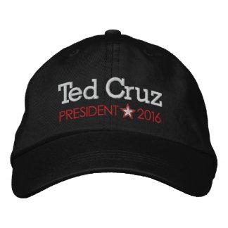 Ted Cruz für Präsidenten 2016 Bestickte Baseballkappe