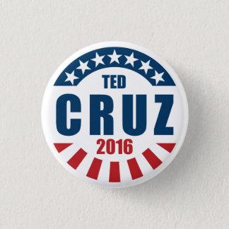 Ted Cruz für Präsidenten 2016 Runder Button 2,5 Cm