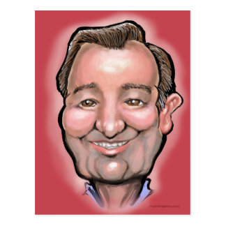 Ted Cruz Postkarte